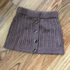 Other - Cable Knit Skirt